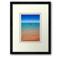 Just Waiting for the Weekend Framed Print