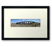 Yarra Glen Railway Bridge Framed Print