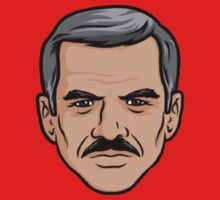 Burt Reynolds - Archer by HalfFullBottle
