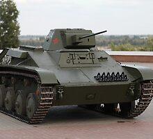 Soviet tank  by mrivserg