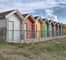 Beach Huts by cambor