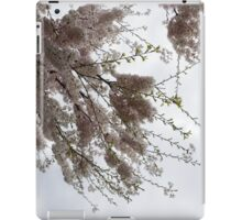 Just Lift Your Head and Enjoy Spring iPad Case/Skin
