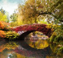Autumn at Gapstow Bridge by Jessica Jenney