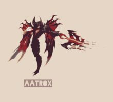 league of legends AATROX by IlonaKov