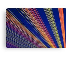 Rainbow Strings Canvas Print