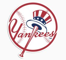 MLB... Baseball NY New York Yankees by artkrannie