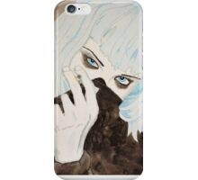 Alice Glass Watercolour iPhone Case/Skin