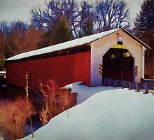 Mahafee Covered Bridge by vigor