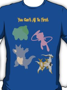 The Four First Pokemon T-Shirt