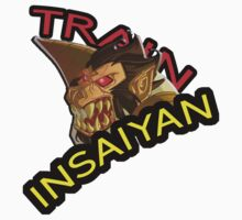 TRAIN INSAIYAN- GREAT APE by rav9000
