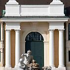 Schonbrunn Front Courtyard Fountain by phil decocco