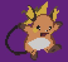 Raichu Pixel art by Bonkatomic