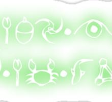 Artemis Fowl is my god Sticker