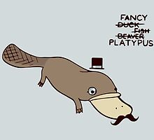 Fancy Platypus by cheezup