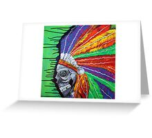 Indian Chief Spirit Greeting Card