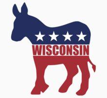Wisconsin Democrat Donkey Kids Clothes