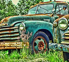 Old Chevrolet Pick-up Truck by rharrisphotos