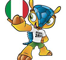 World cup mascot love italy by miky90