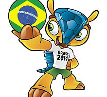 World cup mascot love brasil by miky90