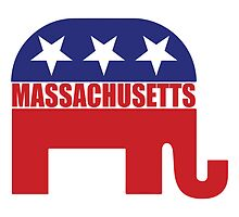 Massachusetts Republican Elephant by Republican