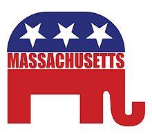 Massachusetts Republican Elephant by Republican