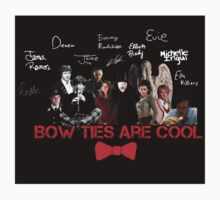 Bow Ties Are Cool T-Shirt by 05jhill