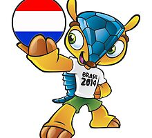 World cup mascot love netherlands by miky90