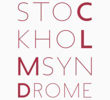 CLMD - The Stockholm Syndrome Coral Typography by upnorthmerch