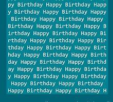 Happy Birthday - BASIC by coderArt