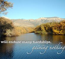 Beautiful Lake Landscape — Funny Demotivational Poster With Caption / Typography by Erik Anderson