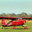 Little red Cessna  by larry flewers