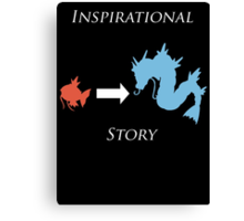 Inspirational Story Canvas Print