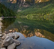 Silver Lake Mountain Reflection by Michael Russell