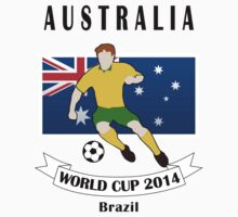 Australia team World Cup 2014 by denip
