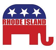 Rhode Island Republican Elephant by Republican