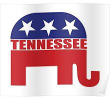Tennessee Republican Elephant Poster