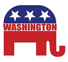 Washington Republican Elephant by Republican