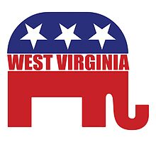 West Virginia Republican Elephant by Republican