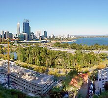 Perth City Western Australia by Stanislaw