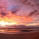 Wombarra Beach sunrise panorama by Chris Brunton