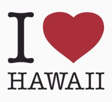 I ♥ HAWAII by eyesblau