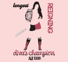 Longest Reigning Divas Champion by ne0ns0undgrafix