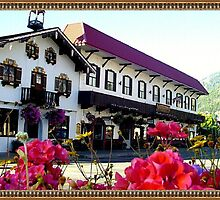 Hotel Rooms in downtown Leavenworth by bavarianritz