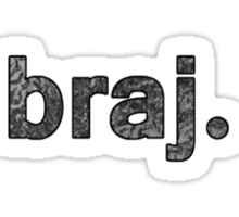 BRAJ Sticker