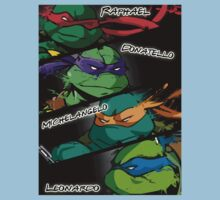 TMNT Kickass style! Kids Clothes