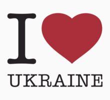 I ♥ UKRAINE T-Shirt