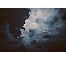 Bali Storm Approaching Photographic Print