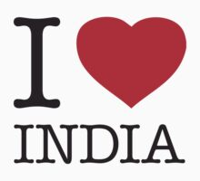 I ♥ INDIA by eyesblau
