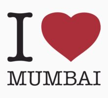 I ♥ MUMBAI by eyesblau