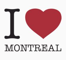I ♥ MONTREAL by eyesblau